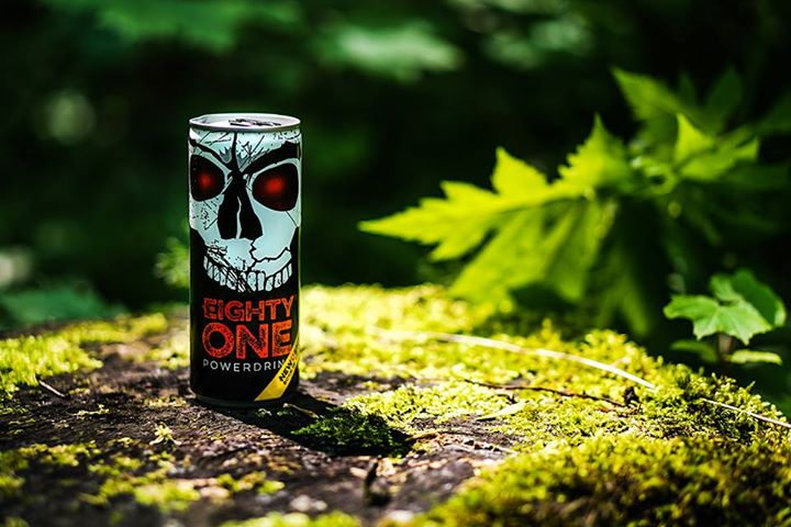 EIGHTY-ONE POWERDRINK NEW ENERGY - BORN IN SWITZERLAND